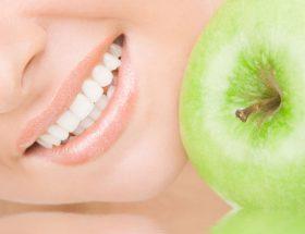 Dieta sana en la salud oral